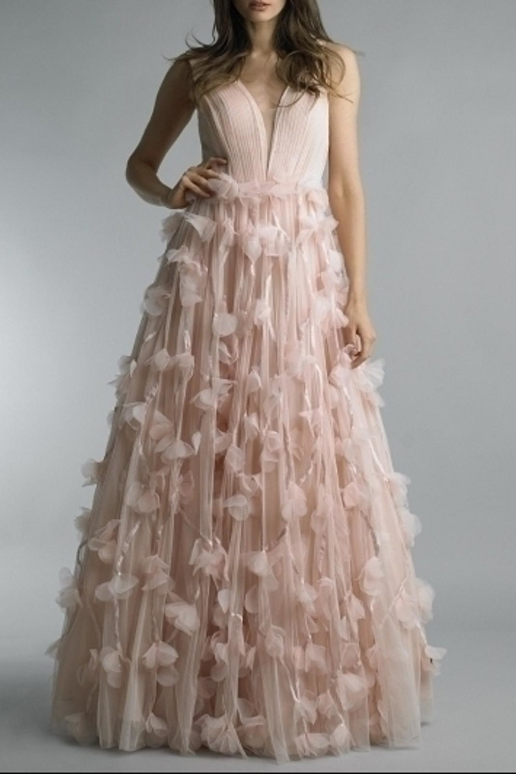 Basix Floral Ball Gown - Main Image