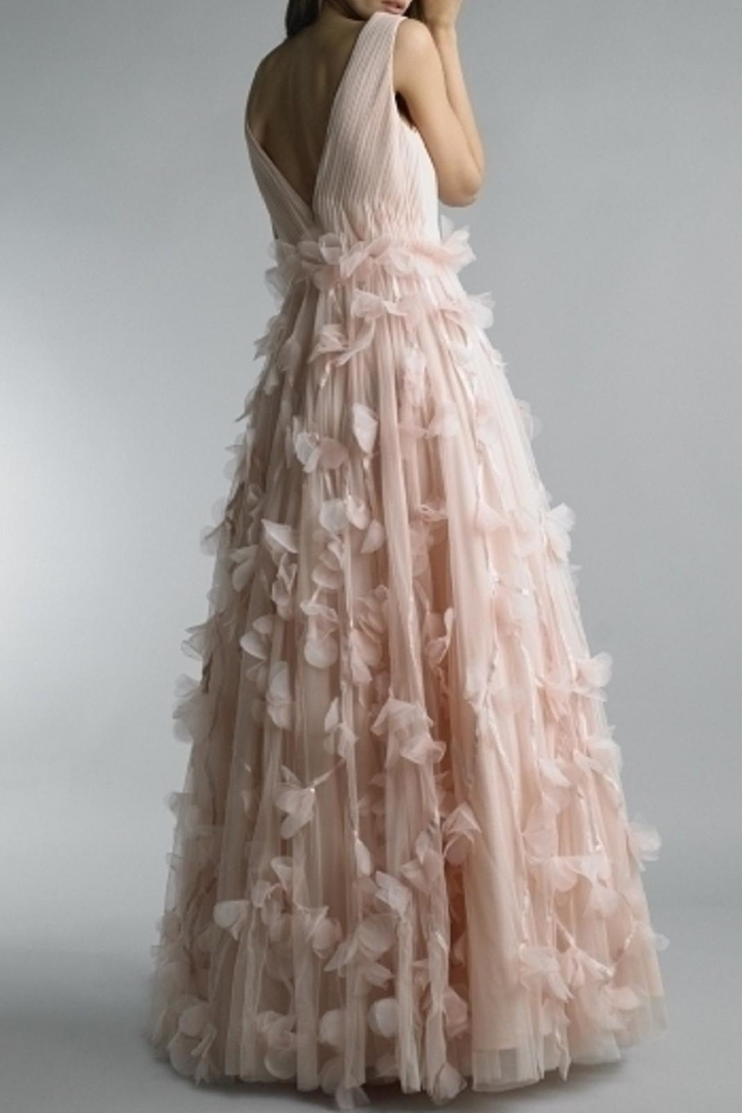 Basix Floral Ball Gown - Front Full Image
