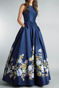 Basix Floral Ball Gown - Product List Image