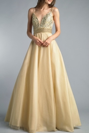 Basix Sleeveless Evening Gown - Product Mini Image