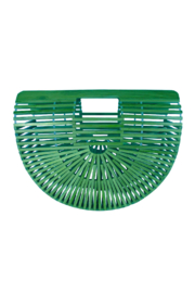 Kenzie Basket Clutch - Front cropped