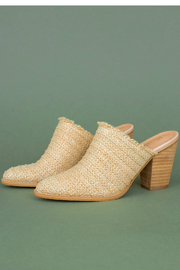 MiiM Basket-weave block heel - Product Mini Image