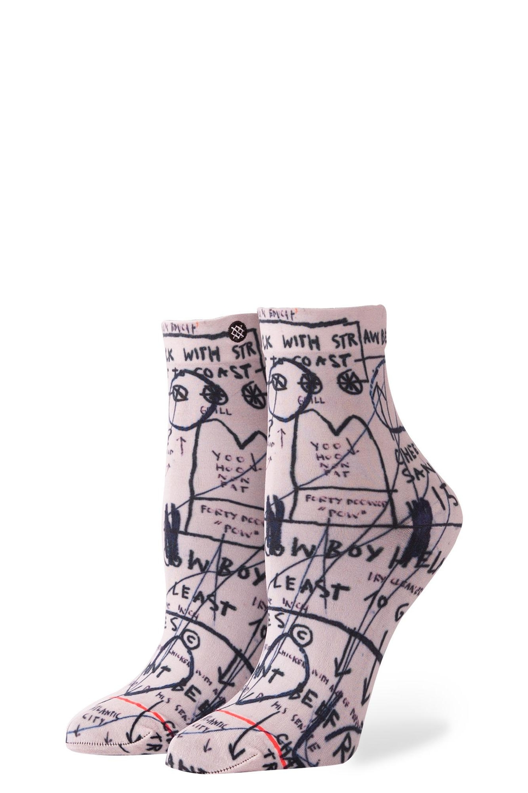 Stance Basquiat Lowrider Socks - Front Cropped Image