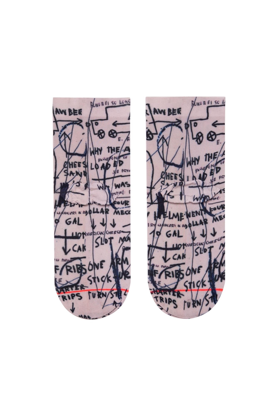 Stance Basquiat Lowrider Socks - Side Cropped Image