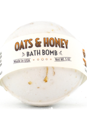 Country Bathhouse Wholesale Bath Bomb - Oats and Honey - Front cropped