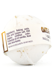 Country Bathhouse Wholesale Bath Bomb - Oats and Honey - Front full body