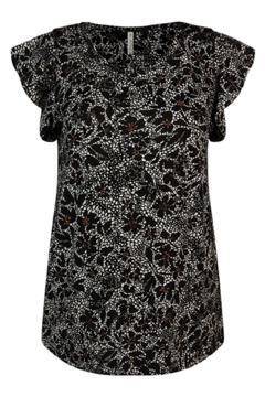 Summum Batik Flowers Top - Alternate List Image