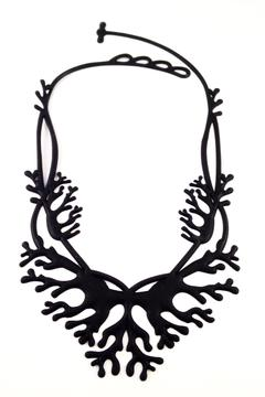 Batucada Black Coral Necklace - Alternate List Image
