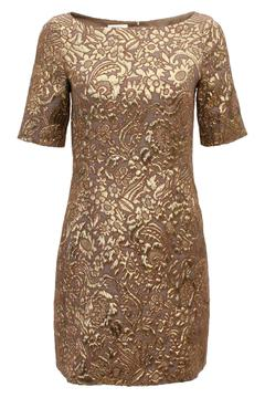 Shoptiques Product: Fitted Brocade Dress
