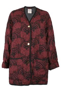 Shoptiques Product: Printed Quilted Jacket