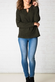 Ivy Beau Bavarian Knit Top - Product Mini Image