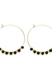 Amano Trading Bayas Hoop Earring - Front cropped