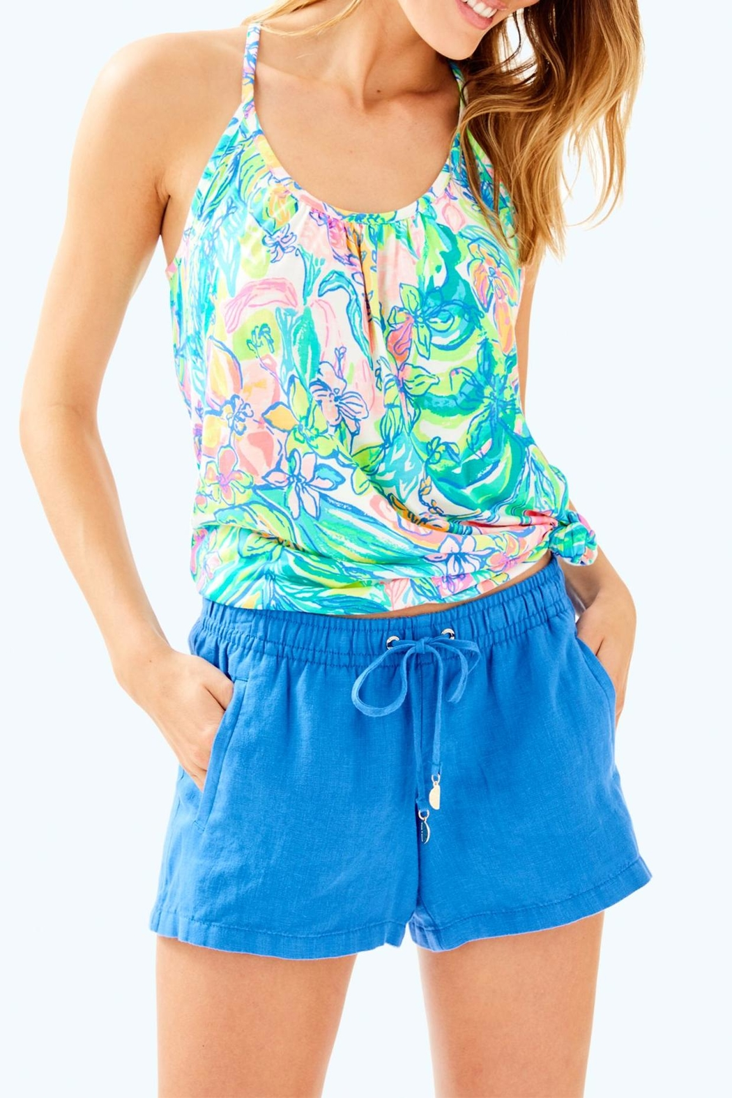 Lilly Pulitzer Baybreeze Short - Front Cropped Image