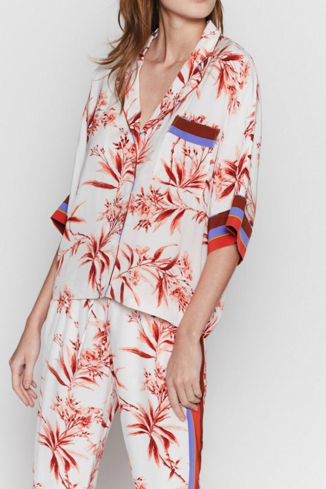 Joie Bayley Pj Blouse - Side Cropped Image