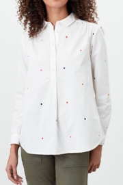 Joules Bayley Pop Over Shirt - Product Mini Image