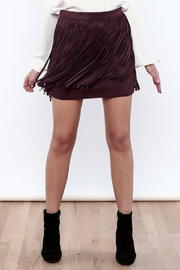 BB Dakota Barton Fringe Skirt - Product Mini Image