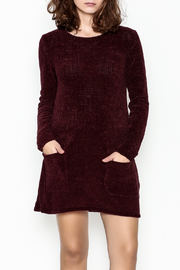 BB Dakota Chenille Pocket Tunic Dress - Product Mini Image