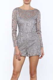 BB Dakota Crescent Silver Romper - Product Mini Image