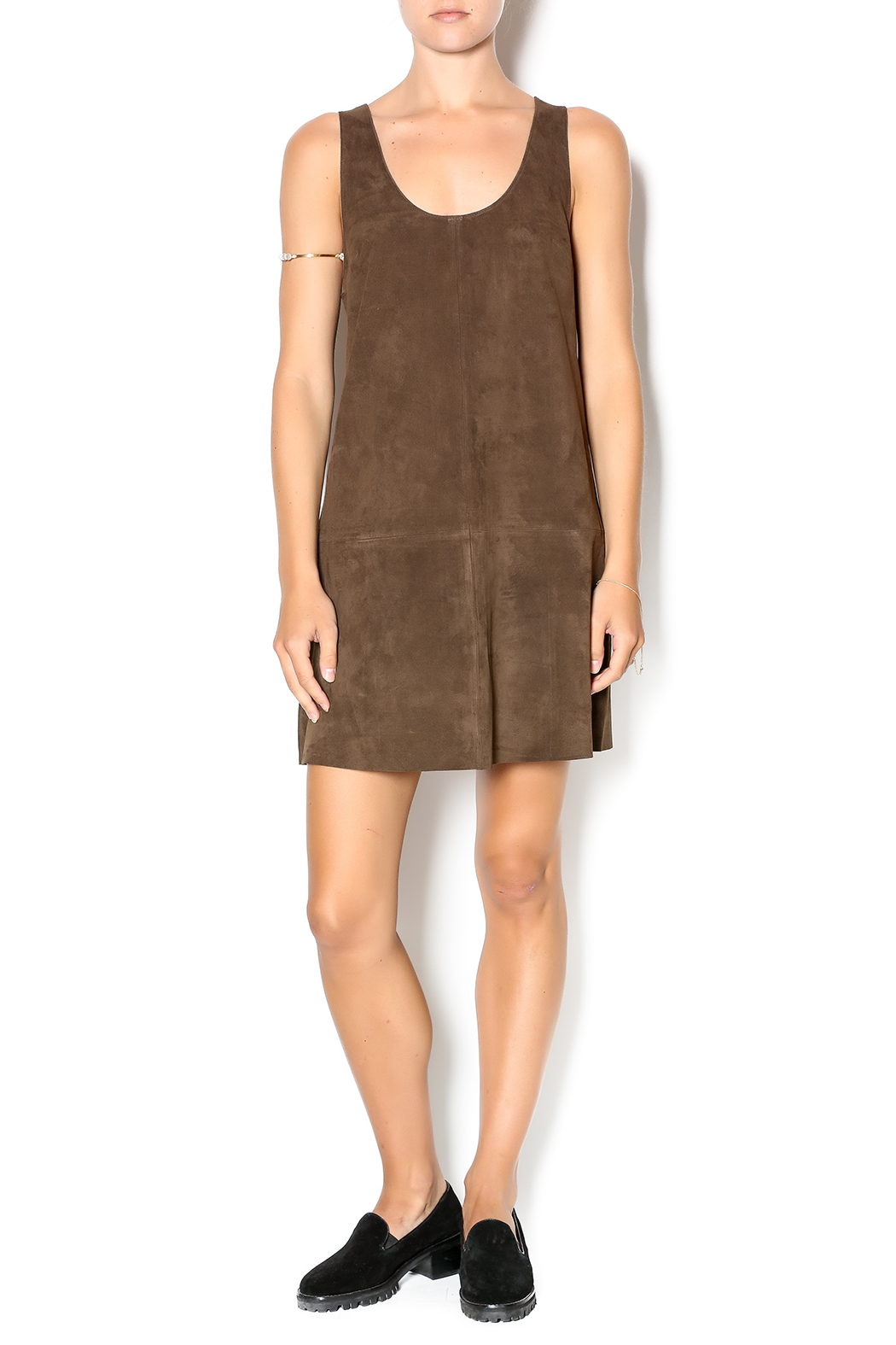 ab63ab7b6a BB Dakota Katniss Suede Dress from New Mexico by Substance — Shoptiques