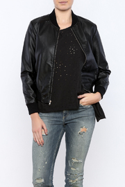 BB Dakota Leather Bomber Jacket - Product Mini Image