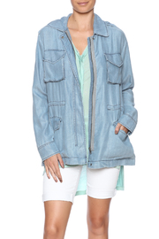 BB Dakota Light Denim Jacket - Product Mini Image