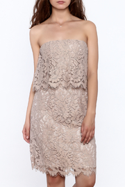 BB Dakota Sakura Strapless Dress - Product Mini Image
