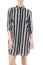 BB Dakota Stripe Shirt Dress - Product Mini Image