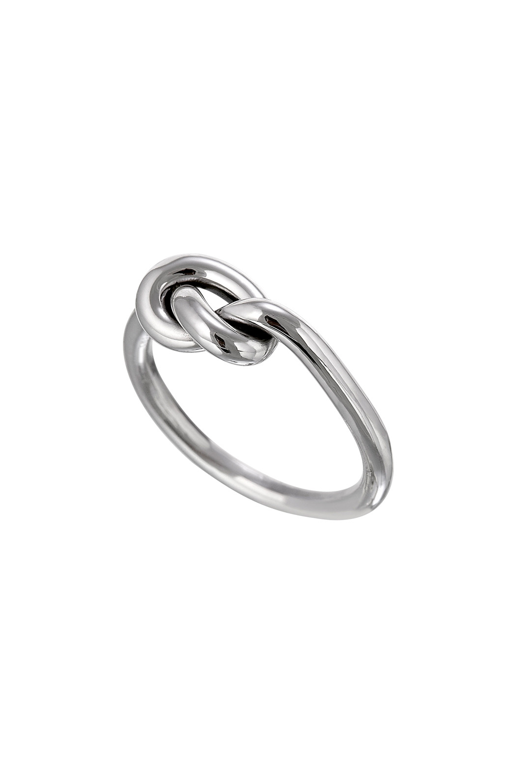 salvador jouhayerk silver single knot ring from cambridge