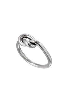 Salvador Jouhayerk Silver Single Knot Ring - Alternate List Image