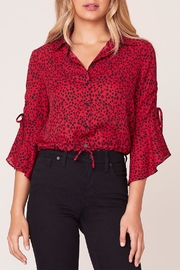 BB Dakota Animal Style Blouse - Product Mini Image