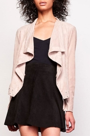 BB Dakota Arly Suede Jacket - Front cropped