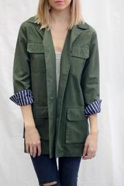 BB Dakota Army Green Jacket - Product Mini Image