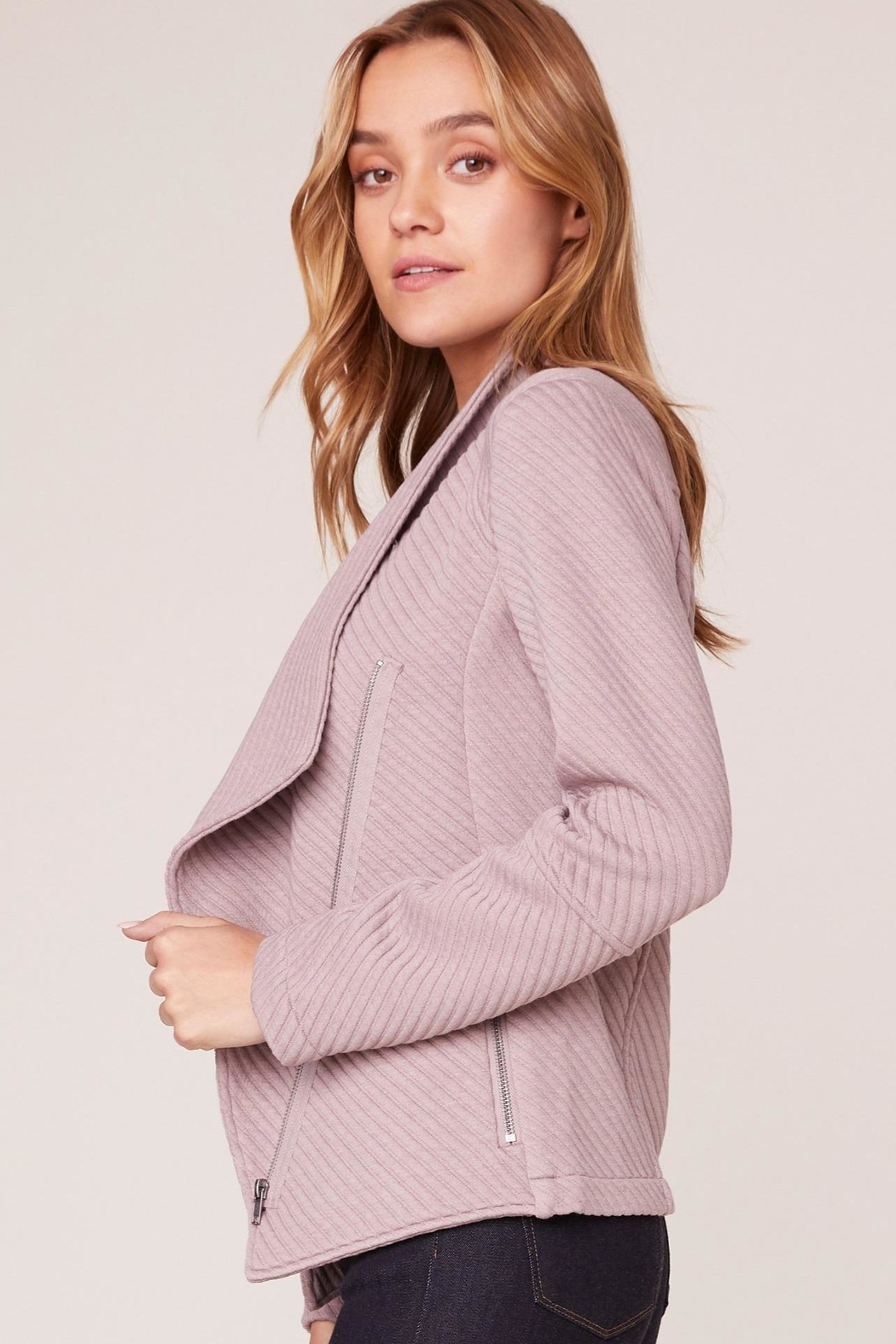 BB Dakota Birch Knit Jacket - Front Full Image