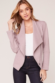 BB Dakota Birch Knit Jacket - Front cropped