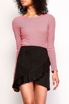 Shoptiques Product: Black Ruffle Skirt