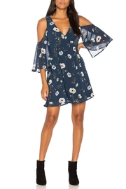 BB Dakota Blue Floral Dress - Product Mini Image