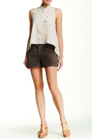 BB Dakota Brown Suede Short - Product Mini Image