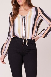 BB Dakota Button Front Top - Front cropped