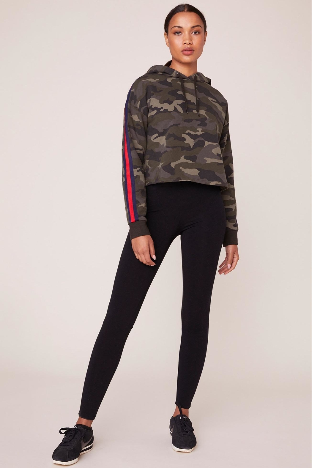 BB Dakota Camo Pullover - Back Cropped Image