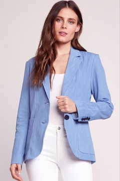 BB Dakota Chambray Blazer - Product List Image