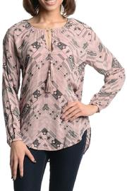 BB Dakota Cleta Pink Tribal Top - Product Mini Image