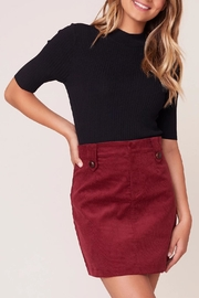 BB Dakota Corduroy Mini Skirt - Product Mini Image
