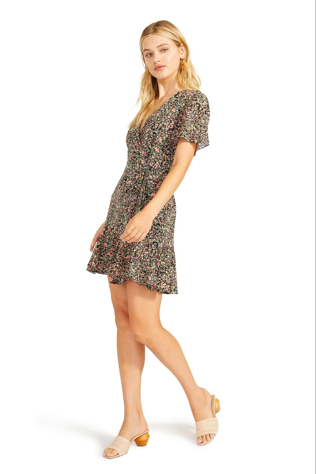 BB Dakota Counting Petals Dress - Side Cropped Image