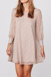 BB Dakota Crepe Shimmer Dress - Front cropped