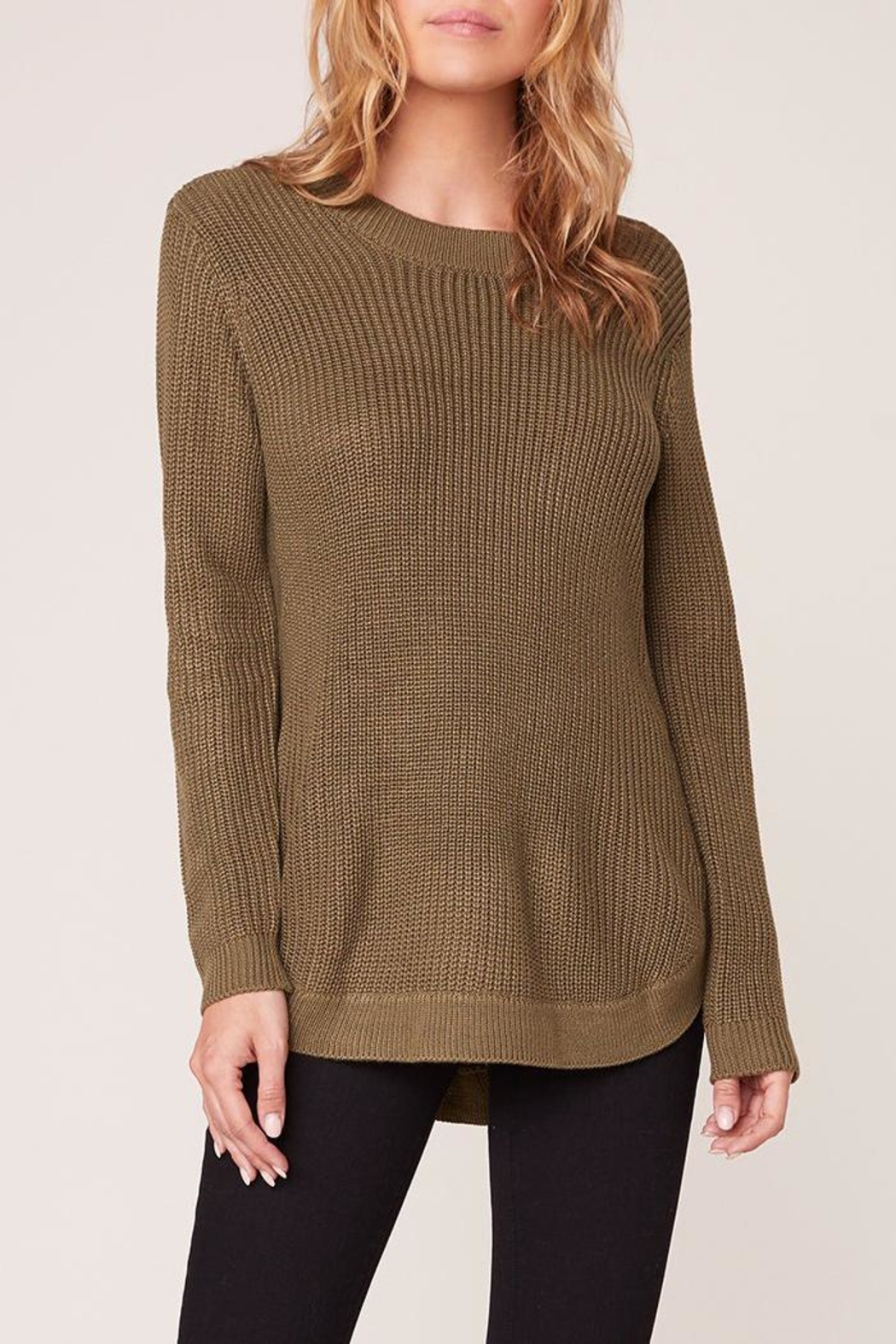 BB Dakota Curve Sweater - Front Cropped Image