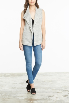 Shoptiques Product: Soft Grey Knit Vest