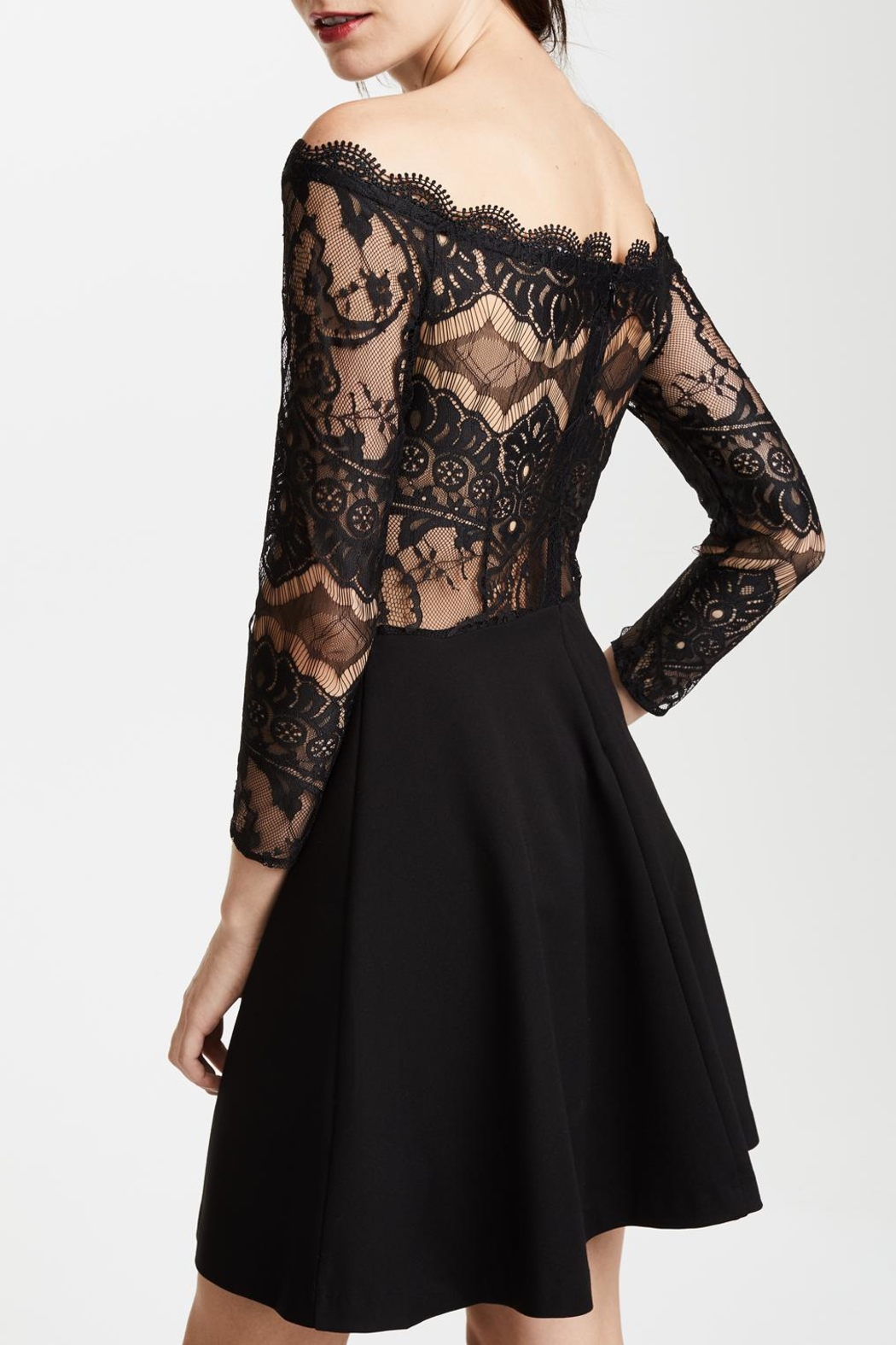 BB Dakota Dennett Lace Dress - Front Full Image