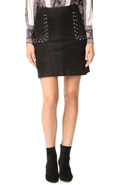 BB Dakota Faux Suede Skirt - Front cropped