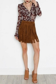 BB Dakota Faux Suede Skirt - Product Mini Image