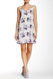 BB Dakota Floral Grey Dress - Front cropped